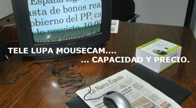 MOUSECAM… TECNOLOGÍA A LA VISIÓN.