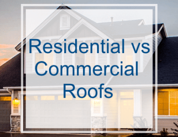 Difference Between Residential and Commercial Roofs