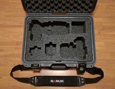 MyCaseBuilder, custom foam insert in my Nanuk 925
