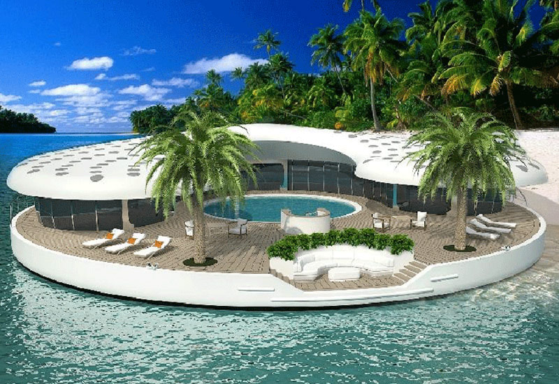 Solar Powered Floating Homes Industry Tap