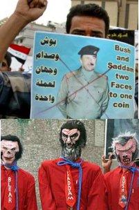 Bush and Saddam, Same Coin!