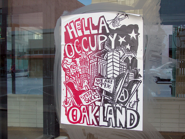 Hella Occupy Oakland poster