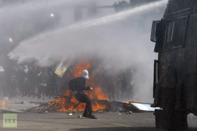 Chilean Protest Hits CIA Pinochet Coup of 9/11/1973 : Indybay