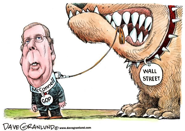 Image result for cartoons mitch mcconnell