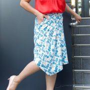Trendschnitt Skirt Jupe No9 - English Translation Pattern Instructions