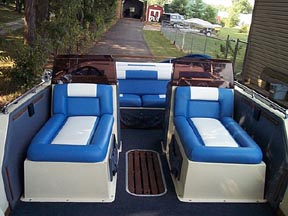 cost to recover pontoon boat seats. Black Bedroom Furniture Sets. Home Design Ideas