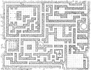 Maze Map Basic Version