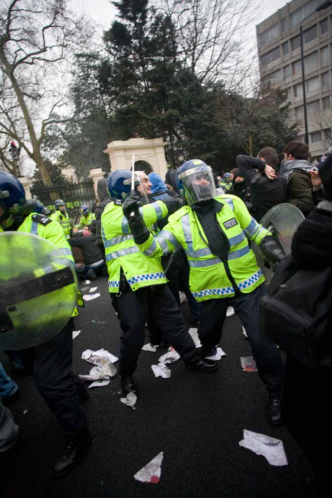 """feels """"good"""" to be an anti-riot officer"""