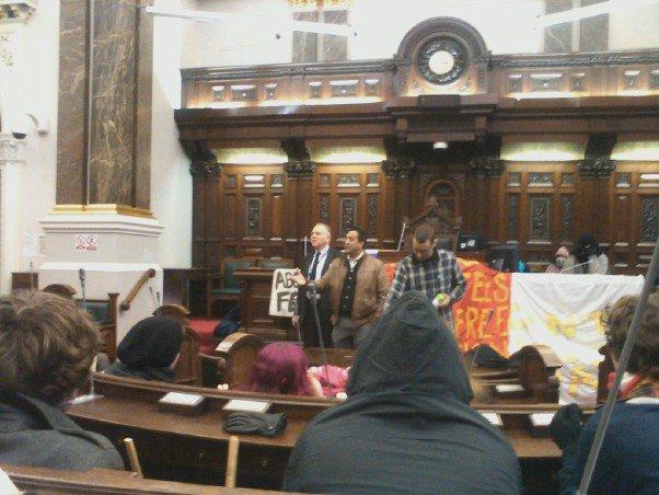 Birmingham council chambers