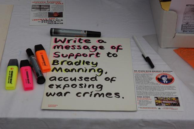 Letter-writing in Wrexham