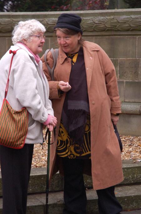 Judith (right)