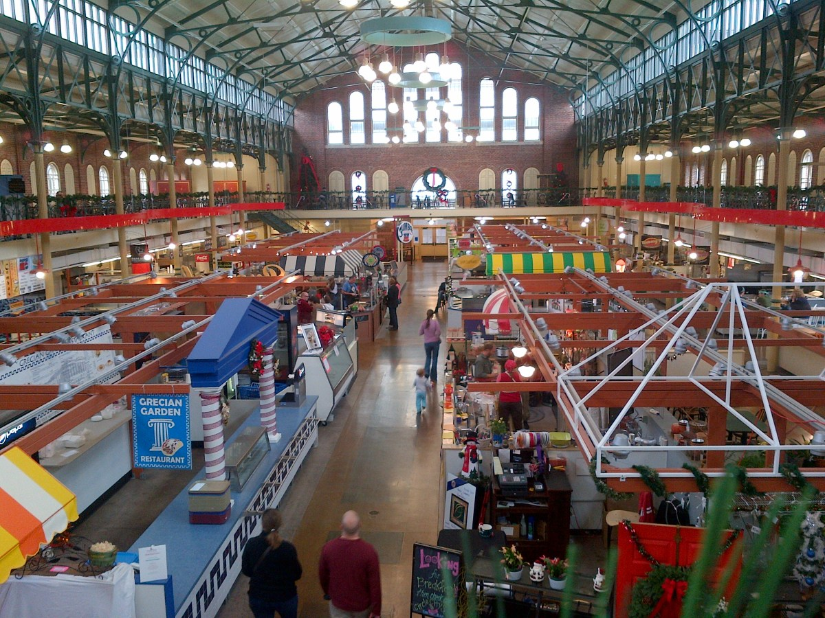Indianapolis City Market – 3 Days in Paris