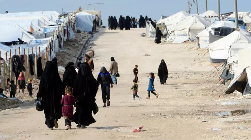 El Hol Kampı'nda 65 bin civarında mülteci kalıyor