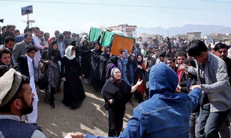 Ferhunde'nin cenazesine kadın aktivistler katılmıştı (AFP).jpg