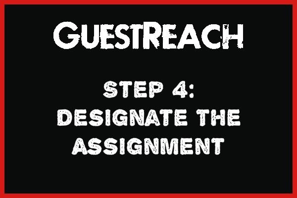 Guestreach Step 4