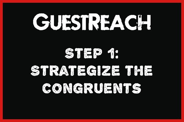 Guestreach step 1