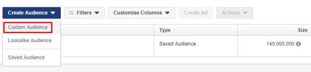 How To Create A Lookalike Audience On Facebook | Step 1