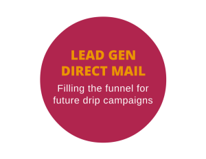 Lead generation direct mail for a physician consultant