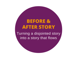 Success story rewrite - before and after