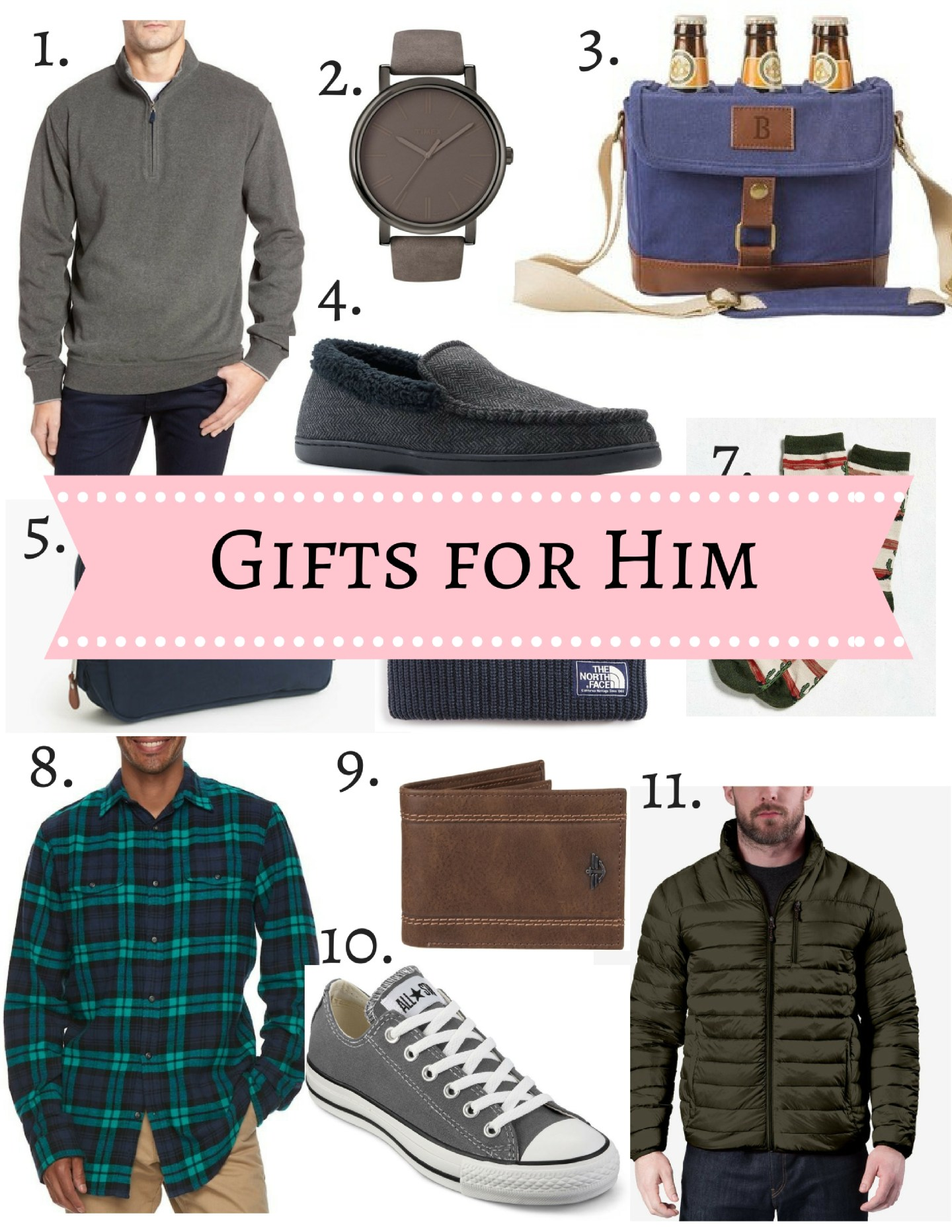 Men's Gift Ideas: Gift Guide for Him (Dad, Brother, Boyfriend, Friend, Family Member)