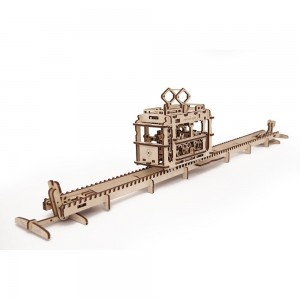 Tram Mechanical 3d Puzzle123