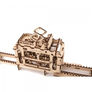 Tram Mechanical 3d Puzzle