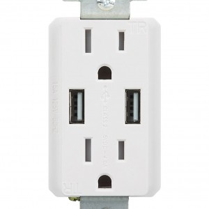 High Speed Dual USB Charger Outlet