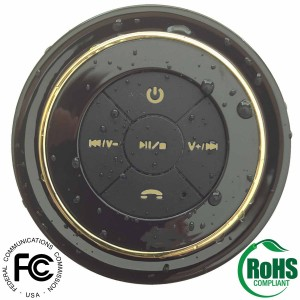 Superior Sounds Portable Bluetooth Shower Speaker1