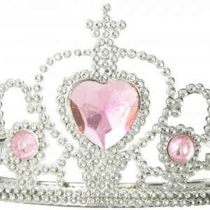 Rhode Island Novelty Tiaras with Heart Stones (12-Pack)11