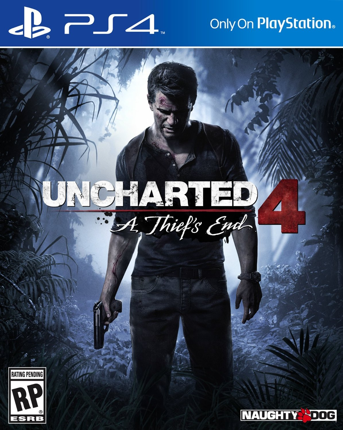 Uncharted 4: A Thief's End – PlayStation 4