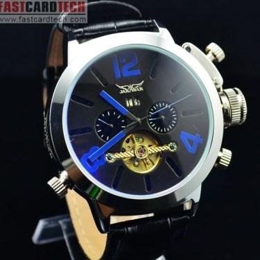 Automatic Jaragar Blue Watch J226