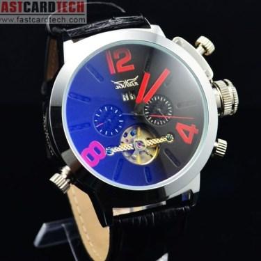 Automatic Jaragar Red Watch J225