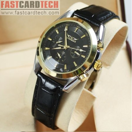 Elegant Stainless Steel Watch Jaragar Golden