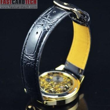Luxury Round Automatic Golden Watch J172
