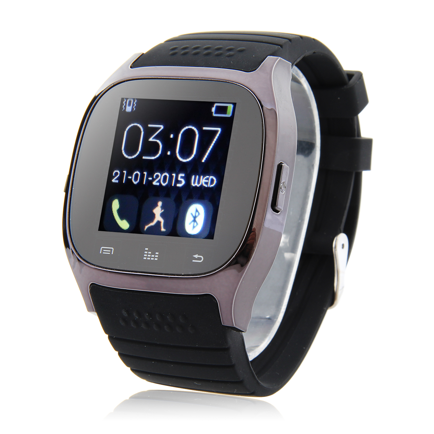 Rwatch M26S – 1.44″ IP57 Smart Bluetooth Watch with Mic