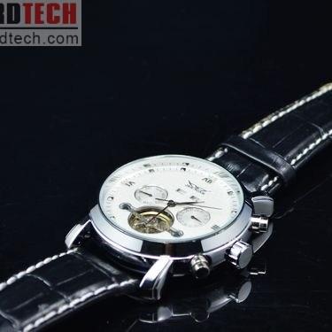 Stylish Automatic Jaragar White Watch J207