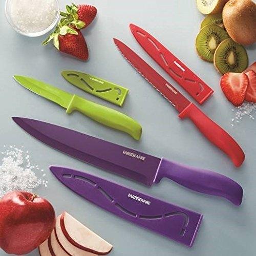 Farberware 6-Piece Stick-Resistant Cutlery Set