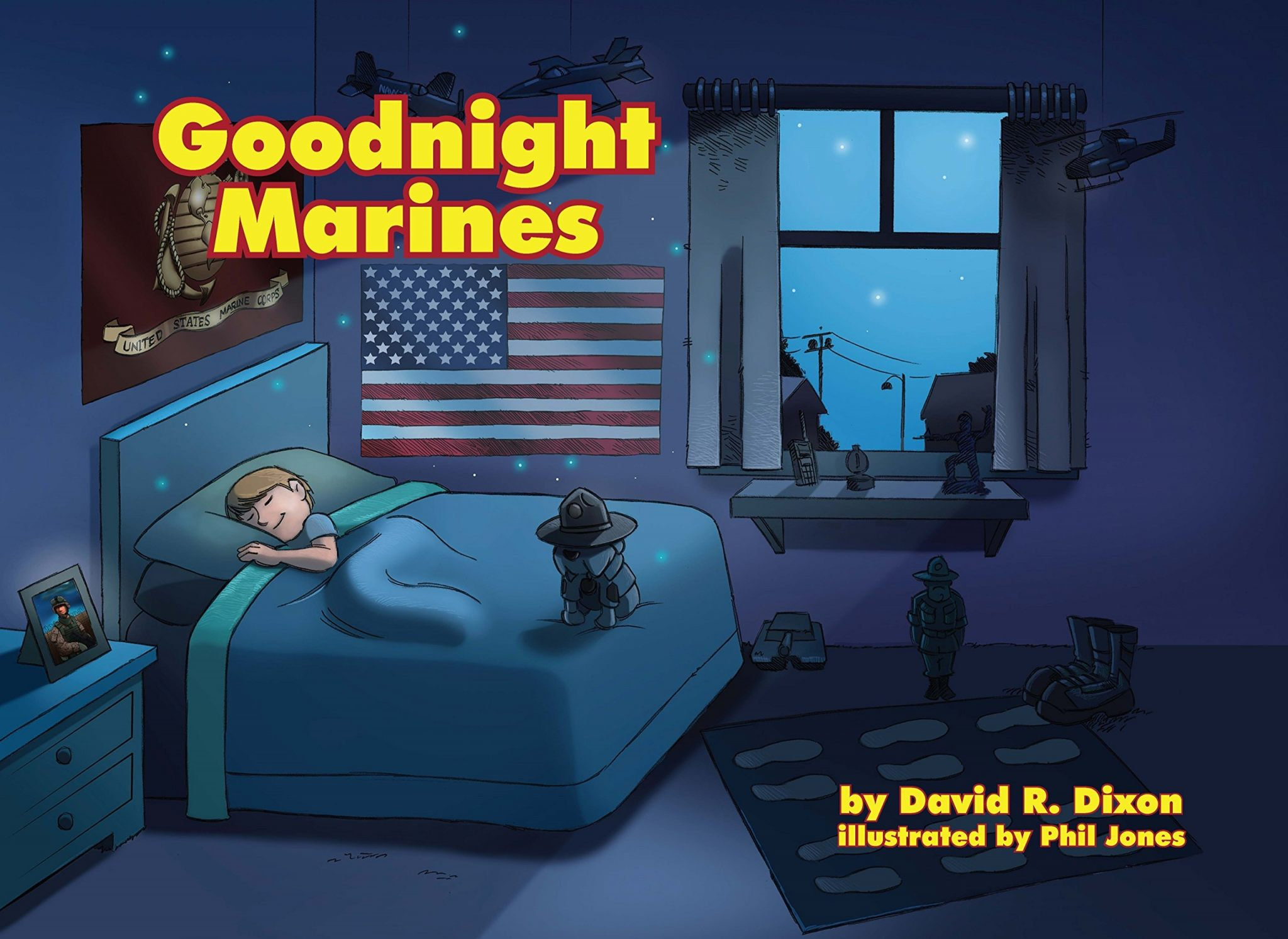 Goodnight Marines Hardcover – Unabridged, 2016