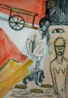 Mixed Media on Canvas $125
