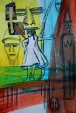 Mixed media on Canvas $150