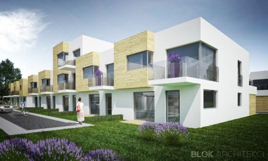 Zespół budynków mieszkalnych w zabudowie szeregowej, ul. Jazowa, Rzeszów