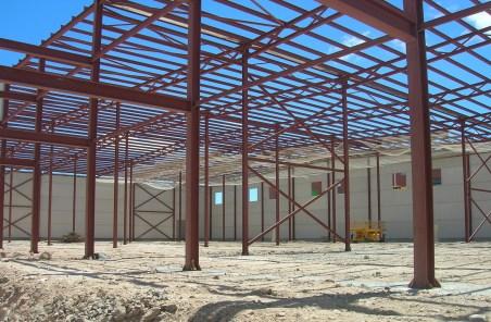 Construcción de Naves industriales de cerchas metálicas presupuesto en Alicante