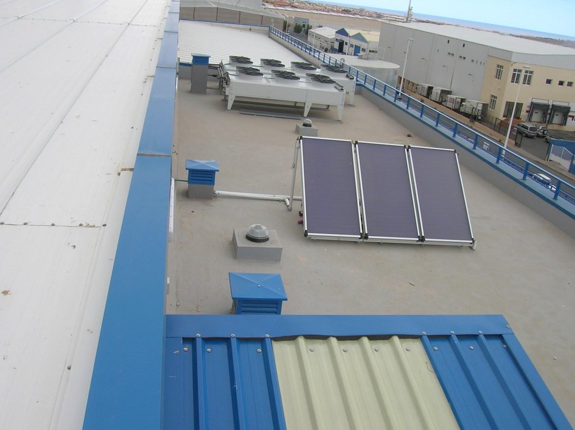 Instalación de placas Solares en cubiertas de naves industriales presupuesto en Alicante