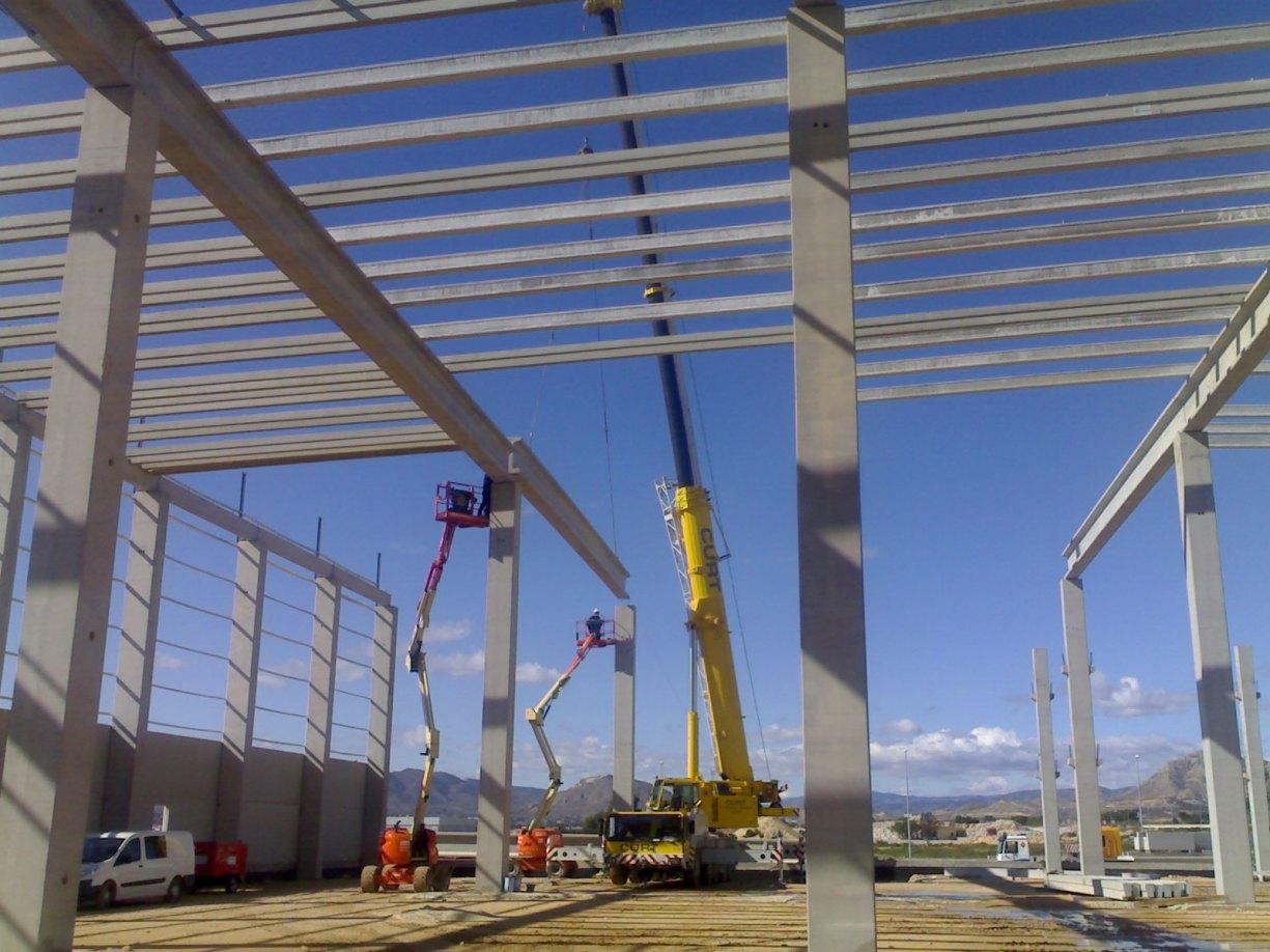 Construcción de Naves industriales prefabricadas presupuesto en alicante