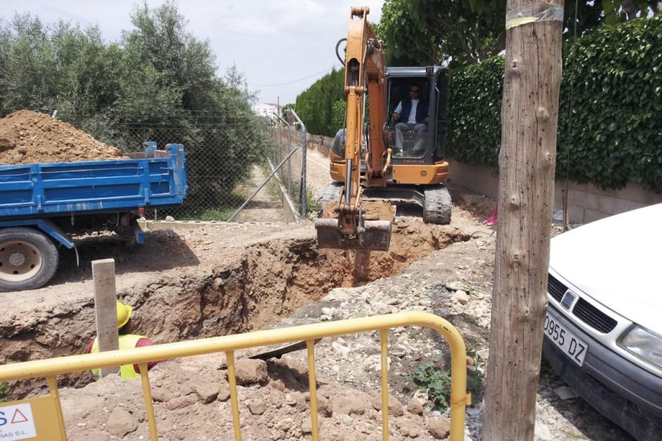 Empresa de Excavaciones canalaizaciones presupuesto en Alicante