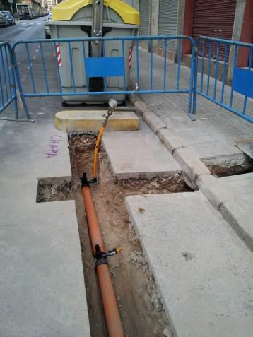 canalizciones excavaciones zanja