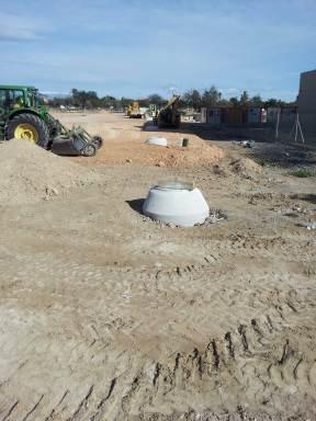 construccion de saneamiento