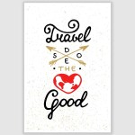Travel Inspirational Poster (12 x 18 inch)