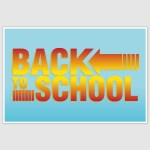 Back to school Poster (12 x 18 inch)