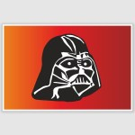 Darth Vader Star Wars Poster (12 x 18 inch)
